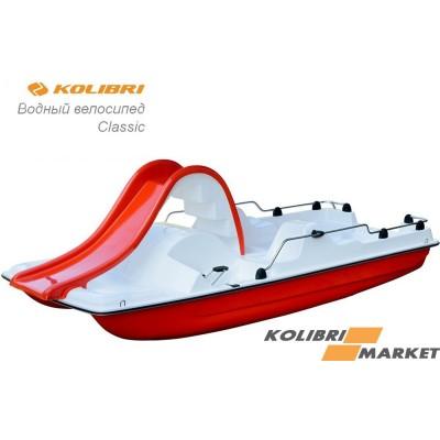 Водный велосипед Kolibri Classik Red