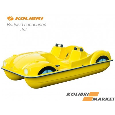 Водный велосипед Kolibri JUK yellow