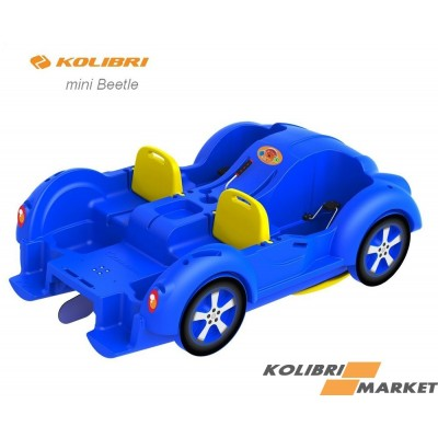 Водный велосипед Kolibri mini Beetle Blue-Yellow