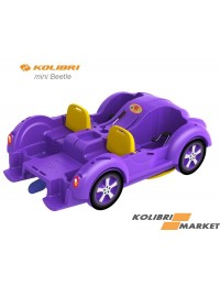Водный велосипед Kolibri mini Beetle Violet Yellow