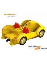 Водный велосипед Kolibri mini Beetle Yellow Red