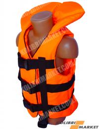 Страховочный жилет BARKAS 30-50 кг детский оранжевый