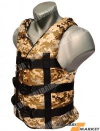 Страховочный жилет BARKAS 50-70 кг камуфляж
