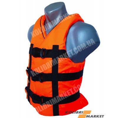 Страховочный жилет BARKAS 70-90 кг оранжевый