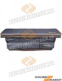 Мягкое сиденье с сумкой (комплект) 65х20 черный