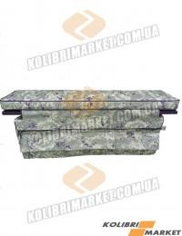 Мягкое сиденье с сумкой (комплект) 65х20 камуфляж
