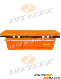 Мягкое сиденье с сумкой (комплект) 65х20 оранжевый