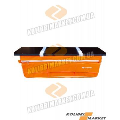 Сумка под сиденье лодки 58х19х23 оранжевый