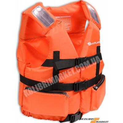 Страховочный жилет KOLIBRI 90-110 кг оранжевый