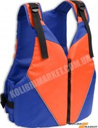 Страховочный жилет KOLIBRI 30-50 кг оранжево-синий детский