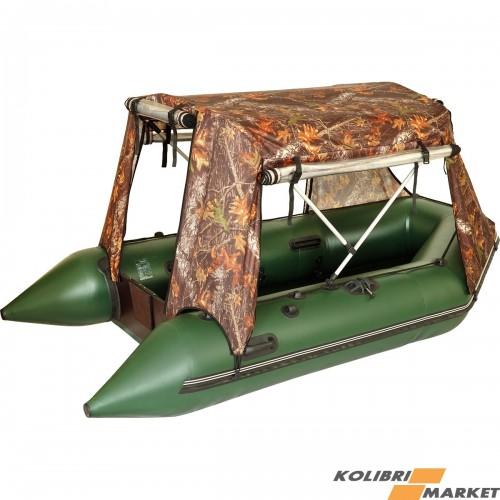 палатка для установки в лодке