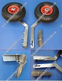 Транцевые колеса КТ-1Н из нержавейки