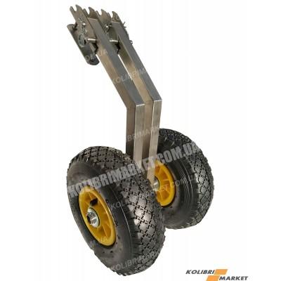 Транцевые колеса КТ-3Н автомат из нержавейки