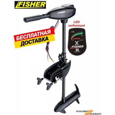 FISHER 55 лодочный электромотор