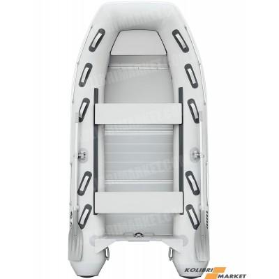 Лодка КОЛИБРИ КМ-360DXL + алюминиевый пайол