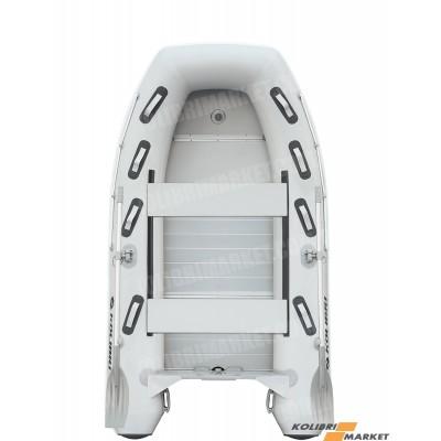 Лодка КОЛИБРИ КМ-300DXL + алюминиевый пайол