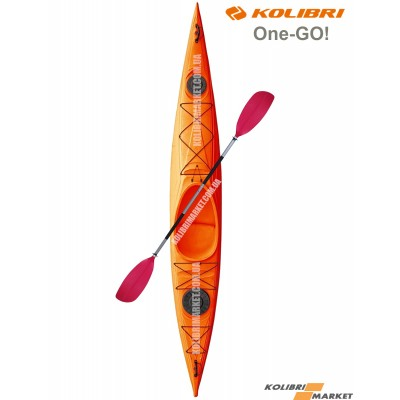 Каяк KOLIBRI One-GO оранжевый