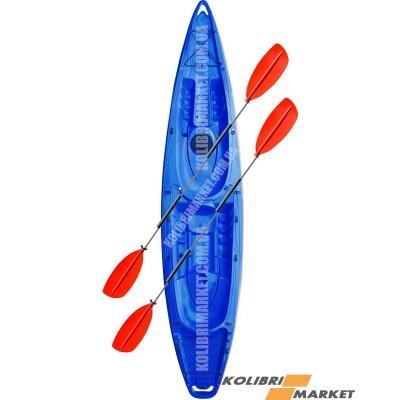Каяк RIVERDAY (КОЛИБРИ) TwinWave-400 синий