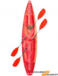 Каяк RIVERDAY (КОЛИБРИ) TwinWave-400 красный