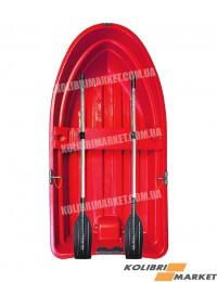 Лодка RIVERDAY RKM-250 пластиковая красная