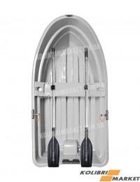 Лодка RIVERDAY RKM-250 пластиковая светло-серая
