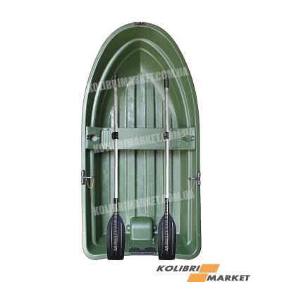 Лодка RIVERDAY RKM-250 пластиковая зеленая