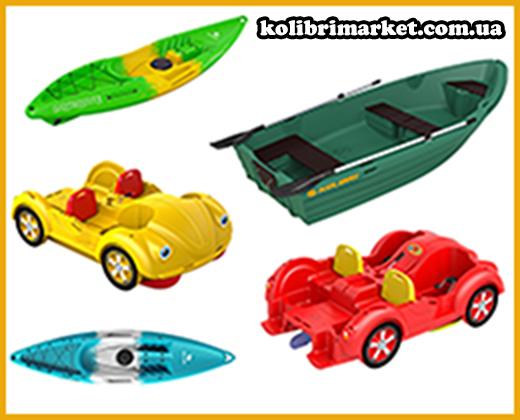 ротационное формование - лодки Колибри